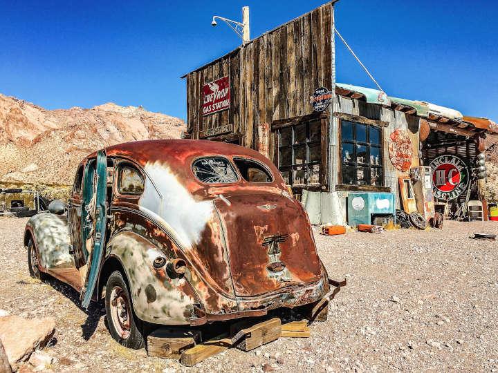 Ville Fantome de Nelson - Nevada