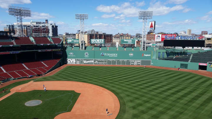 Fenway park - stade de baseball de Boston